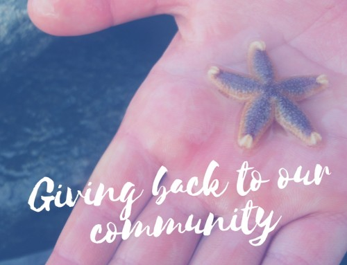 Giving Back to Our Community Starfish Pack Program