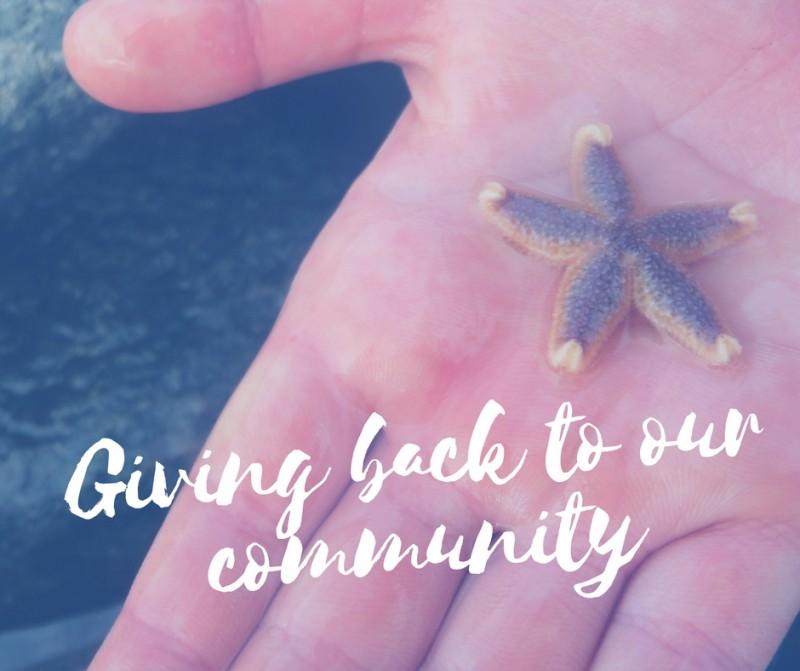 Giving Back Community