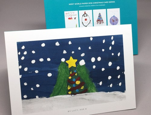 West World Paper 2016 Christmas Cards